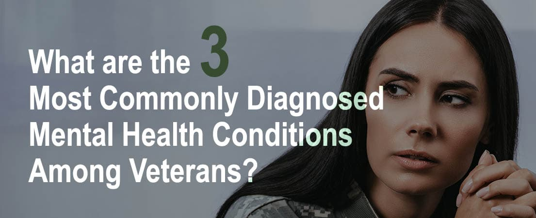 What are the 3 Most Commonly Diagnosed Mental Health Conditions Among Veterans?